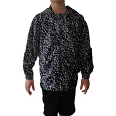 Black Gravel Hooded Wind Breaker (kids)