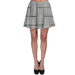 ALTERNATING GREY BRICK Skater Skirts