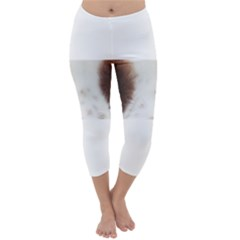 Welsh Springer Spaniel Eyes Capri Winter Leggings