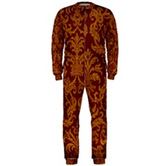 ROYAL RED AND GOLD OnePiece Jumpsuit (Men)