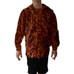 ROYAL RED AND GOLD Hooded Wind Breaker (Kids)