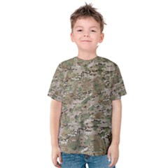 Camo Woodland Faded Kid s Cotton Tee
