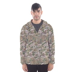 CAMO WOODLAND FADED Hooded Wind Breaker (Men)