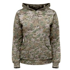 CAMO WOODLAND FADED Women s Pullover Hoodies