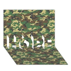 CAMO WOODLAND HOPE 3D Greeting Card (7x5)