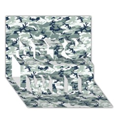 CAMO URBAN Get Well 3D Greeting Card (7x5)