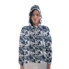 CAMO URBAN Hooded Wind Breaker (Women)