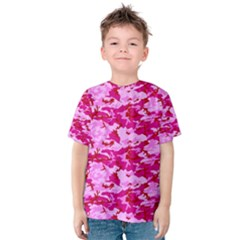 CAMO PINK Kid s Cotton Tee