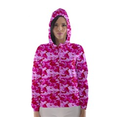 CAMO PINK Hooded Wind Breaker (Women)