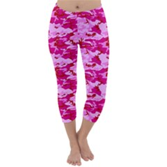 CAMO PINK Capri Winter Leggings