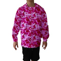 CAMO PINK Hooded Wind Breaker (Kids)