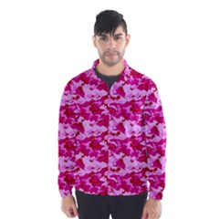 CAMO PINK Wind Breaker (Men)