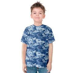 CAMO NAVY Kid s Cotton Tee