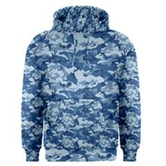 CAMO NAVY Men s Pullover Hoodies