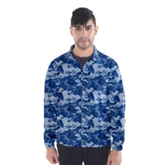 Camo Navy Wind Breaker (men)