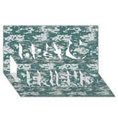 Camo Digital Urban Best Friends 3d Greeting Card (8x4)
