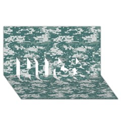 Camo Digital Urban Hugs 3d Greeting Card (8x4)