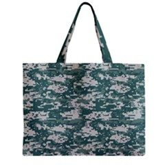 CAMO DIGITAL URBAN Zipper Tiny Tote Bags