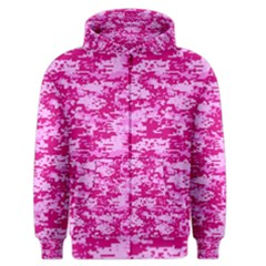 CAMO DIGITAL PINK Men s Zipper Hoodies