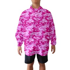 CAMO DIGITAL PINK Wind Breaker (Kids)