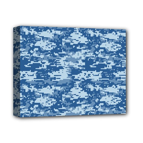CAMO DIGITAL NAVY Deluxe Canvas 14  x 11