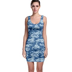 CAMO DIGITAL NAVY Bodycon Dresses