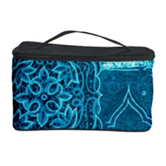 BLUE PATCHWORK Cosmetic Storage Cases
