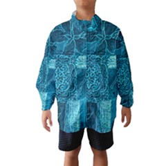Blue Patchwork Wind Breaker (kids)