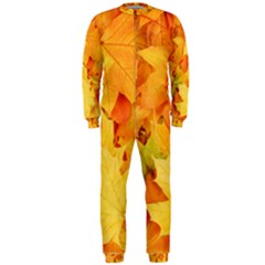 YELLOW MAPLE LEAVES OnePiece Jumpsuit (Men)