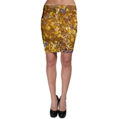 YELLOW LEAVES Bodycon Skirts