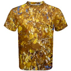 YELLOW LEAVES Men s Cotton Tees