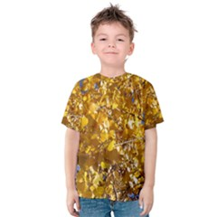 Yellow Leaves Kid s Cotton Tee