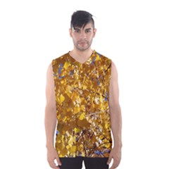 YELLOW LEAVES Men s Basketball Tank Top