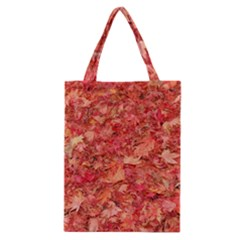 RED MAPLE LEAVES Classic Tote Bags