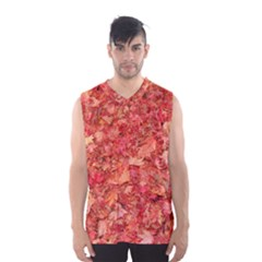 RED MAPLE LEAVES Men s Basketball Tank Top