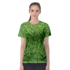 GREEN GRASS 2 Women s Sport Mesh Tees