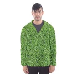 GREEN GRASS 2 Hooded Wind Breaker (Men)