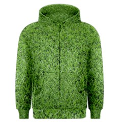 GREEN GRASS 2 Men s Zipper Hoodies