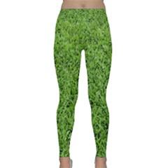 GREEN GRASS 2 Yoga Leggings