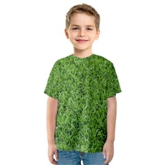 GREEN GRASS 2 Kid s Sport Mesh Tees