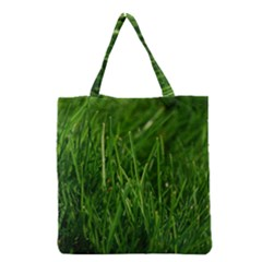 Green Grass 1 Grocery Tote Bags