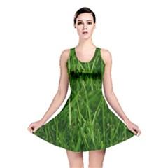 GREEN GRASS 1 Reversible Skater Dresses