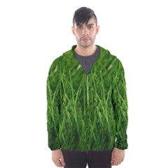 Green Grass 1 Hooded Wind Breaker (men)