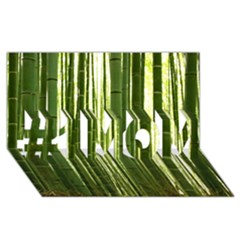 Bamboo Grove 2 #1 Mom 3d Greeting Cards (8x4)