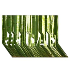 Bamboo Grove 2 #1 Dad 3d Greeting Card (8x4)