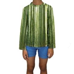 BAMBOO GROVE 2 Kid s Long Sleeve Swimwear