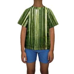 BAMBOO GROVE 2 Kid s Short Sleeve Swimwear