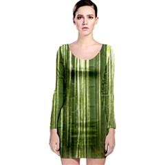 BAMBOO GROVE 2 Long Sleeve Bodycon Dresses