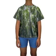 Bamboo Grove 1 Kid s Short Sleeve Swimwear