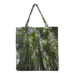 BAMBOO GROVE 1 Grocery Tote Bags